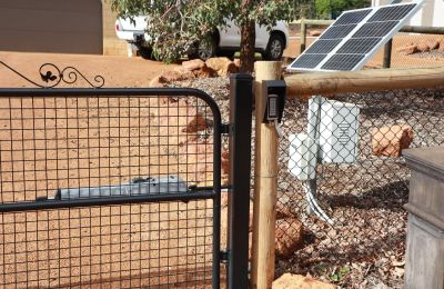 Automatic Solar Powered Gate