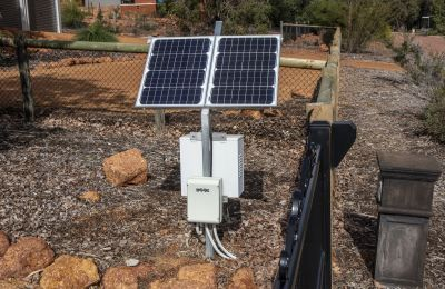Solar Panel with Battery Box