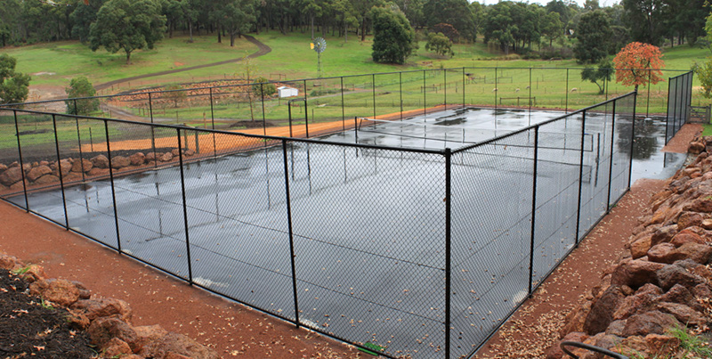 Tennis Court Installation Perth