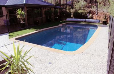 Pool Surround Landscaping Byford