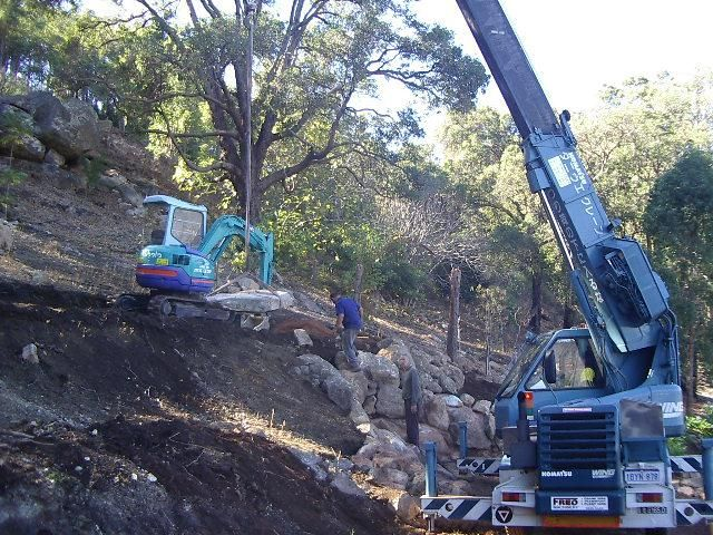 Steep Hills Earthmoving Contractor